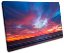 Pacific Ocean Sunset Seascape - 13-0615(00B)-SG32-LO